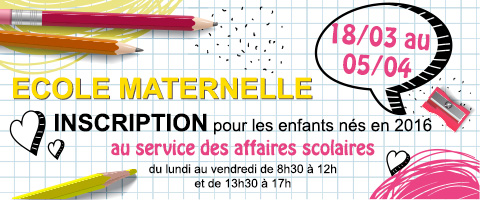 inscription maternelle 2019