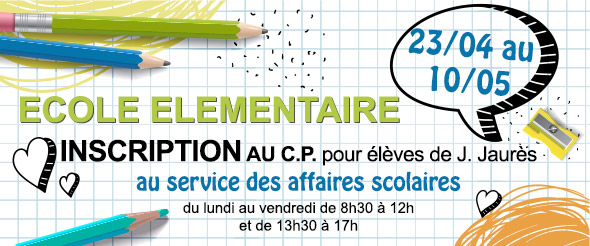 inscription cp jaures