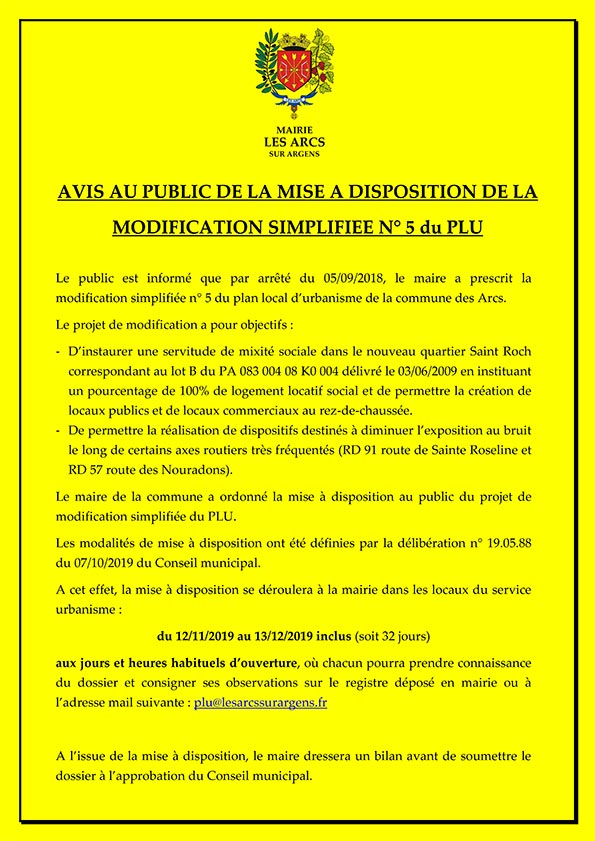 affiche modification 5
