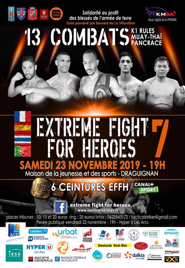 extreme fight for heroes 2019