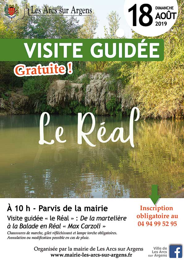 visite guidee le real 2019