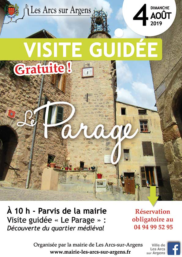 visite guidee parage