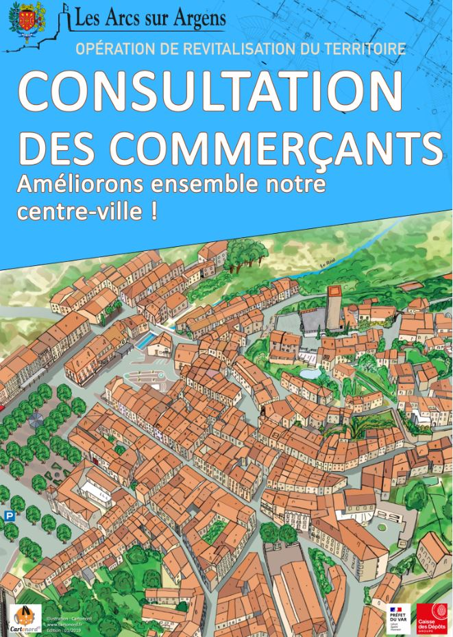 consultation des commercants